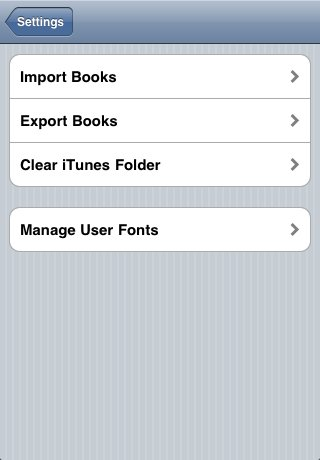 Manage User Fonts